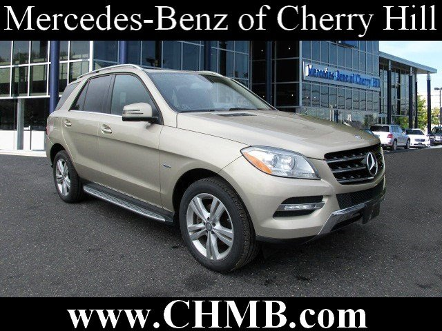 Certified pre owned 2012 mercedes benz m class ml350 suv for Mercedes benz of cherry hill